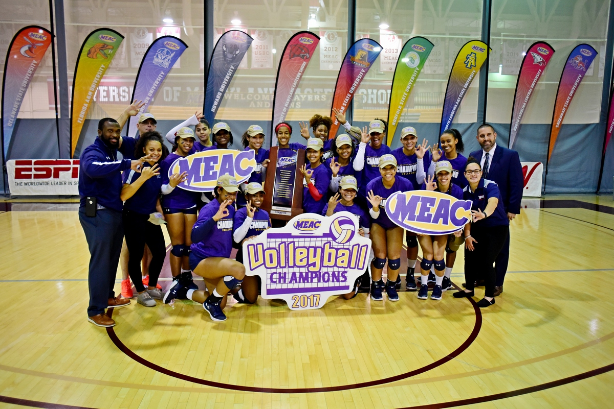 Howard University Women's Volleyball Team Wins Third Consecutive MEAC Tournament Championship and Draws Penn State in the NCAA Tournament