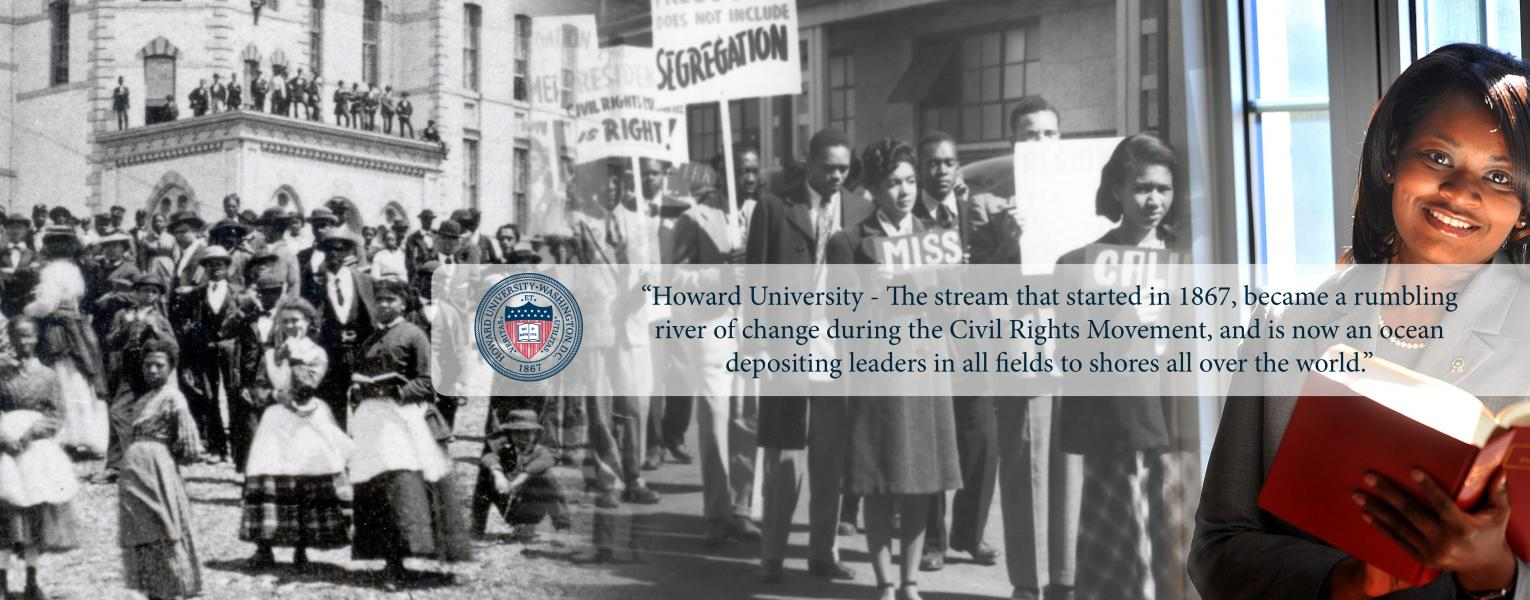 Howard University Essay Pres Quote Slide a  Howard University Essay
