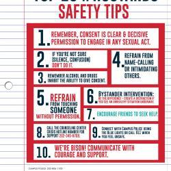 HU Stands Safety Tips